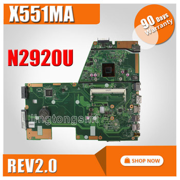Asus X551MA Laptop Anakart/Notebook N2920 CPU Anakart 60NB0480-MB1501-203 Test