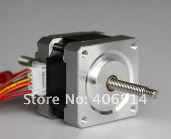 4-LEAD Nema16 lineer Motor 30oz-in, 12 V, 0.4A, 34mm, 0.01mm/adım